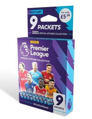 Premier League 2021 Official Sticker Collection - Multi-set