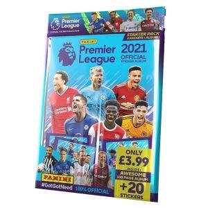 Premier League 2021 Official Sticker Collection - Starter pack