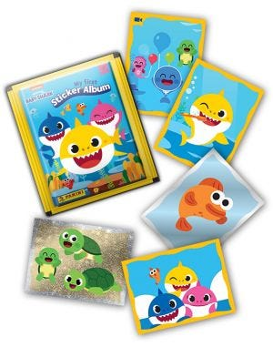 Baby Shark - missing stickers