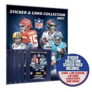 NFL Sticker & Card Collection - Starter Pack
