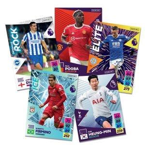 Premier League Adrenalyn XL 21/22 - Base card - Player - Line up - Trophy - missing cards
