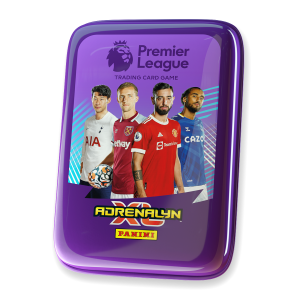 Premier League Adrenalyn XL 21/22 Trading card Collection - Pocket Tin Purple