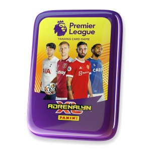Premier League Adrenalyn XL 21/22 Trading card Collection - Pocket Tin Yellow
