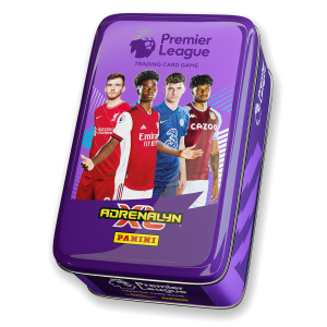 Premier League Adrenalyn XL 21/22 Trading card Collection - Classic Tin Purple