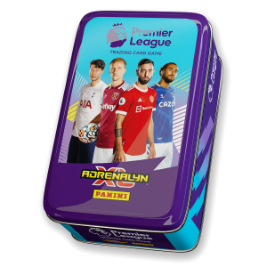Premier League Adrenalyn XL 21/22 Trading card Collection - Classic Tin Blue