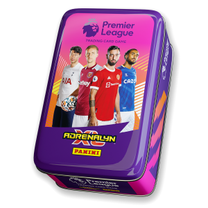 Premier League Adrenalyn XL 21/22 Trading card Collection - Classic Tin Pink