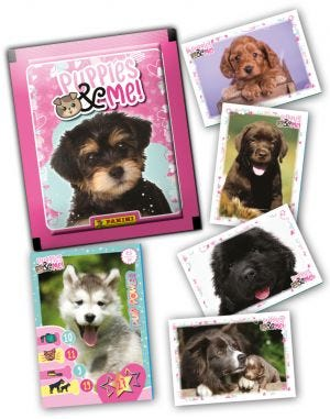 PUPPIES & ME blog - missing stickers