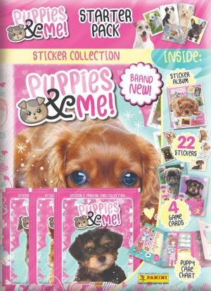 Puppies & Me Sticker Collection - Starter Pack