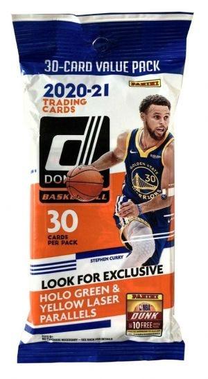 2020/21 Donruss Basketball Trading Cards - Fatpack