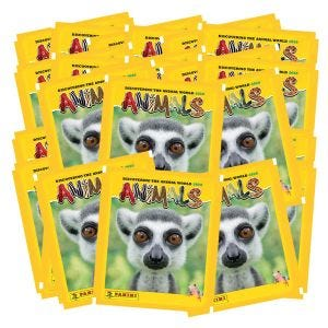 Animals 2020 Sticker Coll - Bundle 25 bustine_UK