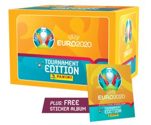 UEFA EURO 2020™ Stk Coll. - Bundle Box 100 bb + Album_UK