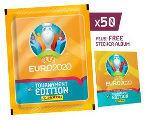 UEFA EURO 2020™ Stk Coll. - Bundle 50 bb + Album_UK