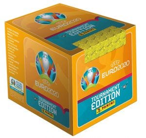 UEFA EURO 2020™ Stk Coll. - Bundle Box 50 bustine_UK