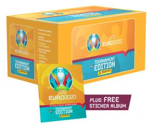 UEFA EURO 2020™ Stk Coll. - Bundle Box 140 bb + Album_UK
