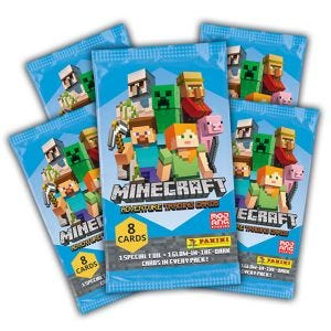 Minecraft Adventure TC Col - Bundle 5 bustine_Uk