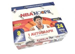 NBA 2020/21 Hoops Basketball Trading Cards - Retailbox