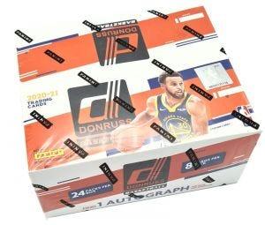 2020/21 Donruss Basketball Trading Cards - Retailbox