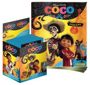 Coco Movie Sticker Collection 50-packet Box UK Edition + fre