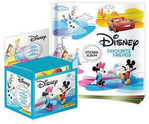 Disney Favourite Friends Sticker Collection 50-packet Box UK