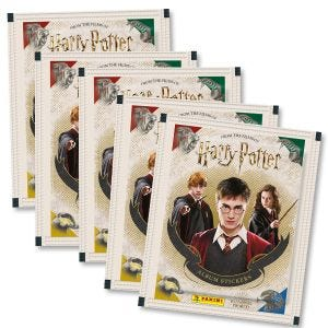 Harry Potter Saga Hybrid Sticker Coll. - Bundle of 5 packets