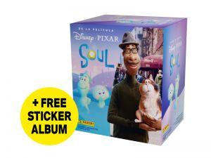 Soul Movie Sticker Collection - Bundle of 50 packs + FREE sticker album
