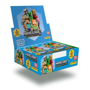 Minecraft Trading Card Collection - Bundle of 18 Packets