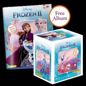 Disney Frozen II Sticker Album Story Collection - Bundle of 36 packets + FREE Sticker Album
