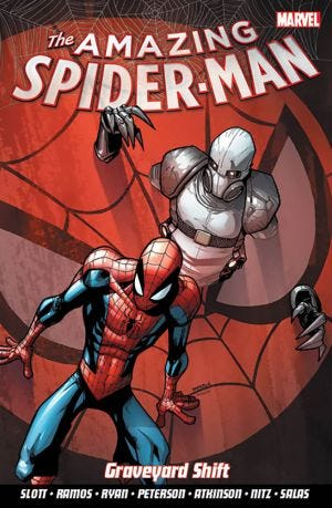 THE AMAZING SPIDER-MAN VOL.4 GRAVEYARD SHIFT