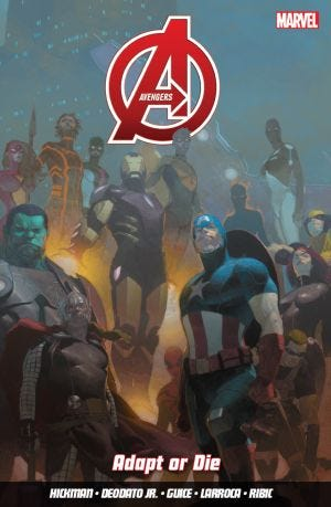 AVENGERS VOL.4 ADAPT OR DIE
