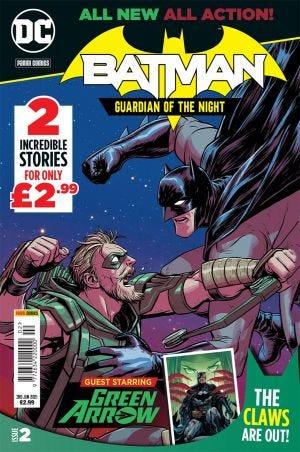 BATMAN GUARDIAN OF THE NIGHT VOLUME 1 ISSUE 2