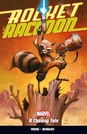 ROCKET RACCOON VOL.1 A CHASING TALE