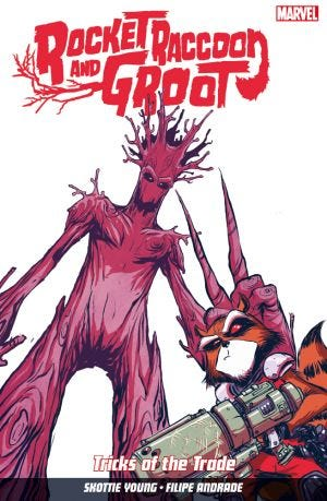 ROCKET RACCOON & GROOT VOL.1: TRICKS OF THE TRADE