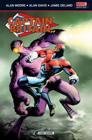 CAPTAIN BRITAIN VOL5