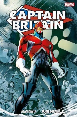 Captain Britain Omnibus Hard Cover