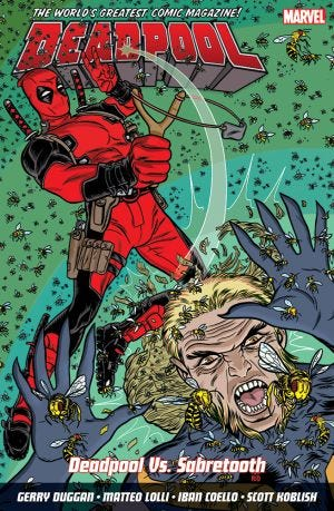 DEADPOOL: WORLD'S GREATEST VOL.3: DEADPOOL VS. SABRETOOTH