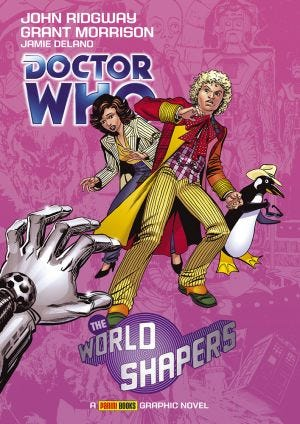 DR.WHO WORLD SHAPERS MAG.08