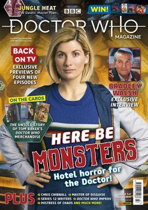 DOCTOR WHO MAGAZ N.547