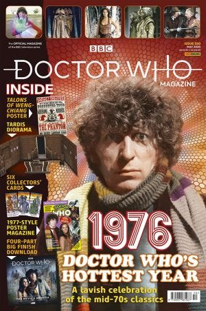 DOCTOR WHO MAGAZ N.550