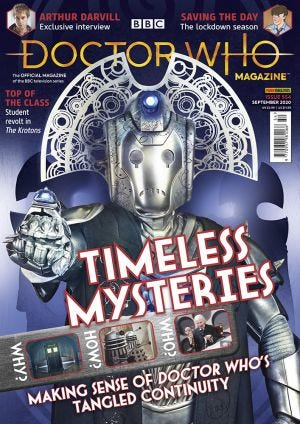 DOCTOR WHO MAGAZ N.554