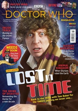 DOCTOR WHO MAGAZ N.555
