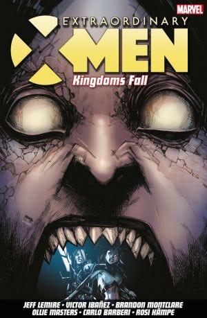 EXTRAORDINARY X-MEN VOL.3 KINGDOMS FALL