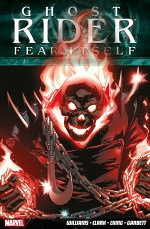 GHOST RIDER FEAR IT SELF N.17