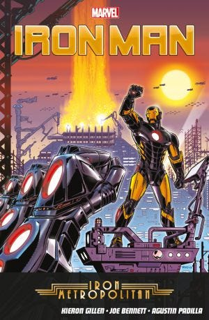 IRON MAN VOL.4: METROPOLITAN