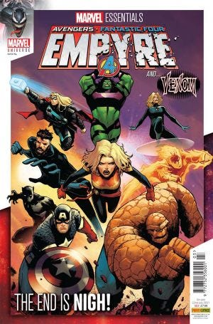 Marvel Universe: Marvel Essentials Vol. 1 #3