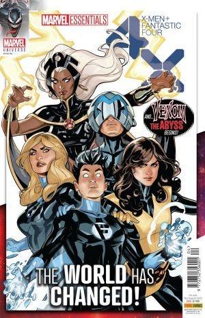 Marvel Universe Marvel Essentials Volume 1 Issue 4 Image 1