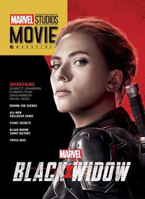 Marvel Studios Movie Magazine Black Widow