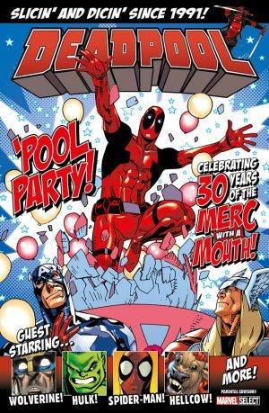 MARVEL BOOKAZINE DEADPOOL:POOL PARTY!
