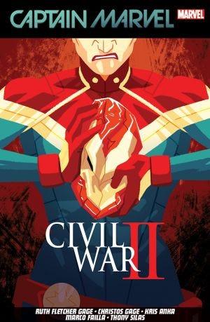 CAPTAIN MARVEL VOL. 2 CIVIL WAR LL