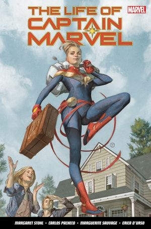 LIFE OF CAPTAIN MARVEL