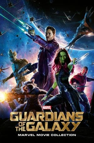 MARVEL CINEMATIC COLLECTION VOL.4: GUARDIANS OF THE GALAXY P